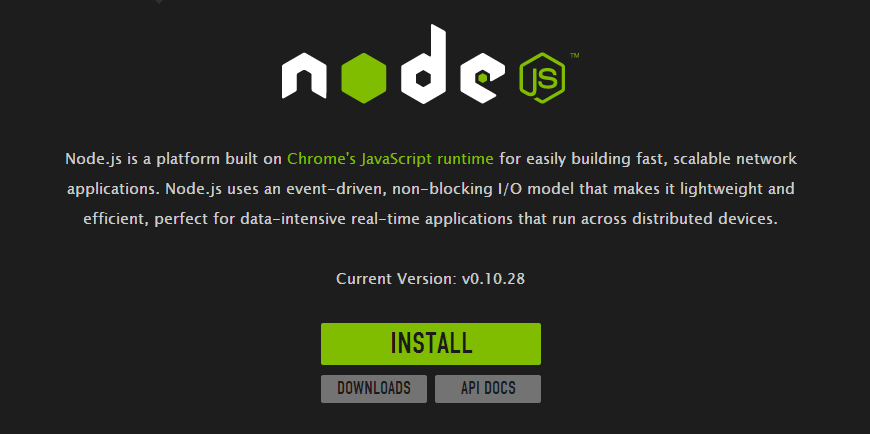 Look how simple it is to install Node.JS